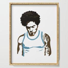 Lenny Kravitz - Portrait Serving Tray