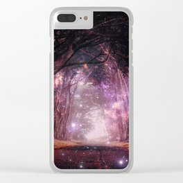 Grown Away Clear iPhone Case