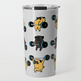 OLYMPIC LIFTING PUGS Travel Mug