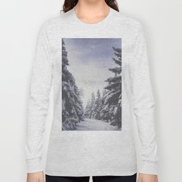 It's gonna clear up - Landscape and Nature Photography Long Sleeve T-shirt