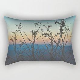 Blue Ridge Mountain Sunset (Asheville, North Carolina) Rectangular Pillow