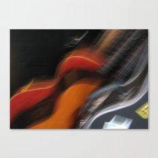 Guitars (ANALOG zine) Canvas Print