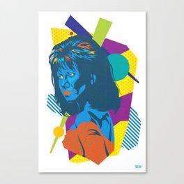TRUDY :: Memphis Design :: Miami Vice Series Canvas Print