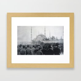 Istanbul 1919, Occupation of Constantinople Framed Art Print