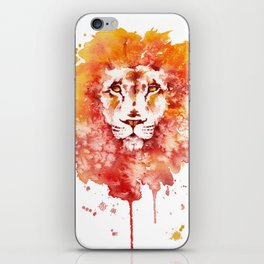 PRIDE (Water colour Lion) iPhone Skin