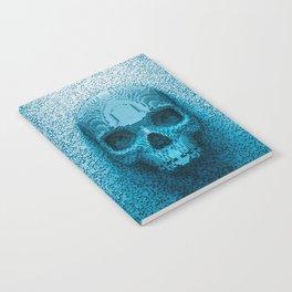 Pixel skull Notebook