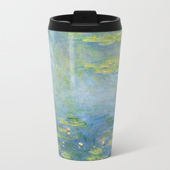 Water Lilies 1906 by Claude Monet Metal Travel Mug