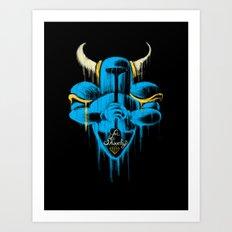 For Shovelry Art Print