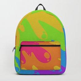 Rainbow flood Backpack