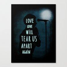 Love will tear us apart again Canvas Print