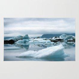 Ice Antartica Rug