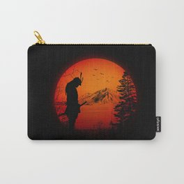 My Love Japan / Samurai warrior Carry-All Pouch