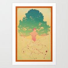 Otium Art Print