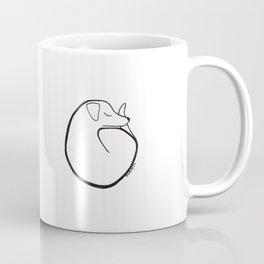 curly dog Coffee Mug