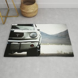 Mustang GT350 car photography classic cars Rug