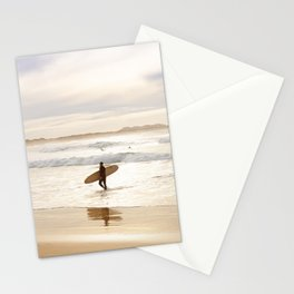 Surfing Peniche Stationery Cards
