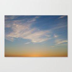Sunset, July 10th, 2014 Canvas Print