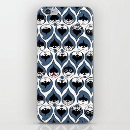 Deltarune Lancer Drop Pattern iPhone Skin