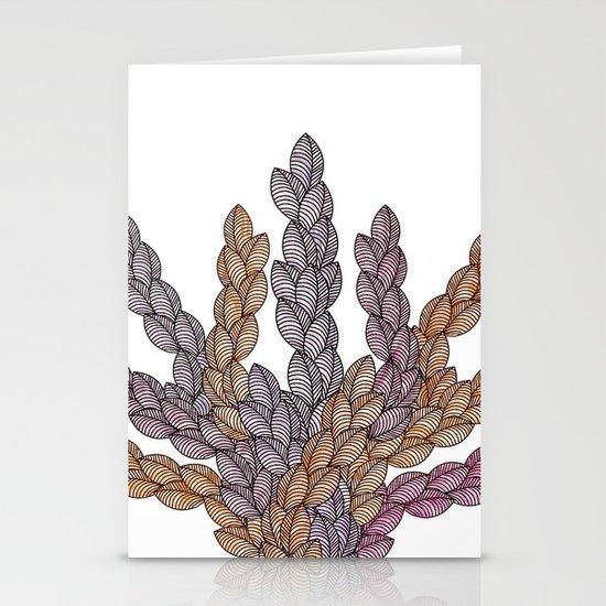 Leaf 13 Stationery Cards