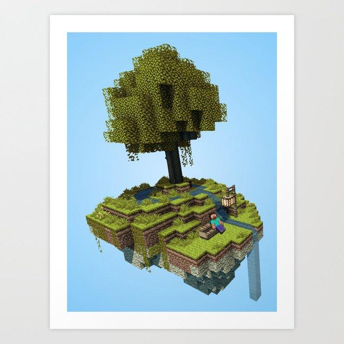 Tree Rest Art Print