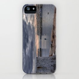 Cloudy afternoon at Lanes Cove 2392 iPhone Case
