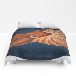 nautilus eye Comforters
