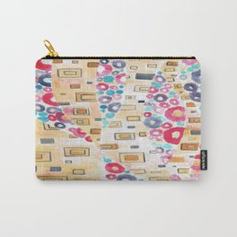 Gold and flowers Carry-All Pouch