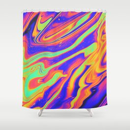 EYES ON FIRE Shower Curtain