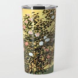 Hayami Gyoshū Camellia Blossoms Travel Mug