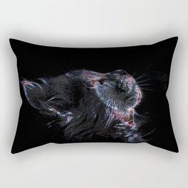 Ethereal Cat Rectangular Pillow