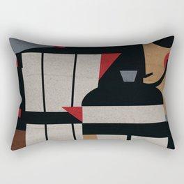 Coffee Methods Rectangular Pillow