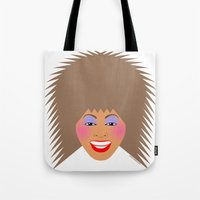 tina fey Tote Bags featuring Greatest Tina by tuditees