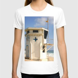 Laguna Beach Lifeguard Tower T-shirt