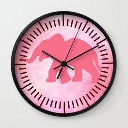 Ella the Elephant Wall Clock