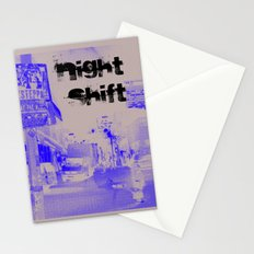 night shift Stationery Cards