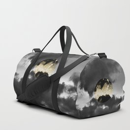 Mystical Moon #1 #gold #black #decor #art #society6 Duffle Bag