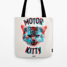 Motor Kitty Tote Bag