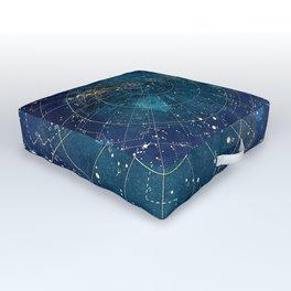 Star Map :: City Lights Outdoor Floor Cushion