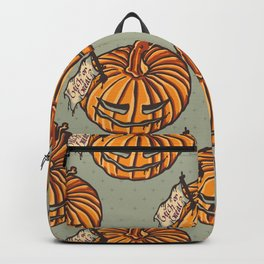 trick or treat? - pattern Backpack