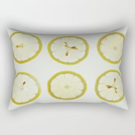 Lemon Square Rectangular Pillow
