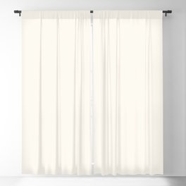 Alabaster White - Solid Color Collection Blackout Curtain
