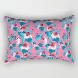 Pink Cats Rectangular Pillow