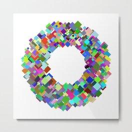 720 squares Metal Print