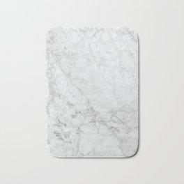 White Marble #629 Bath Mat