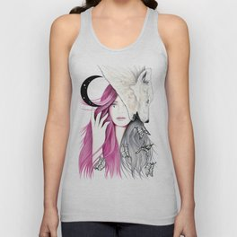 New Moon Unisex Tank Top