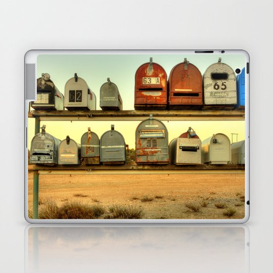 Saturday's Mail Laptop & iPad Skin