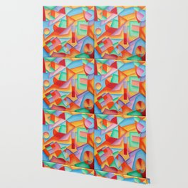 geometric abstract Wallpaper