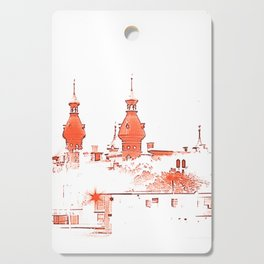 University of Tampa -- Red Cutting Board