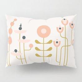 very graphic flowers Pillow Sham