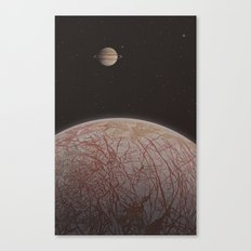 Europa (moon) Canvas Print